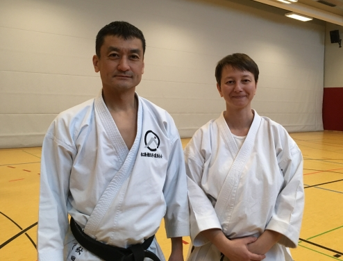 Seminar mit Sensei Shinji Akita